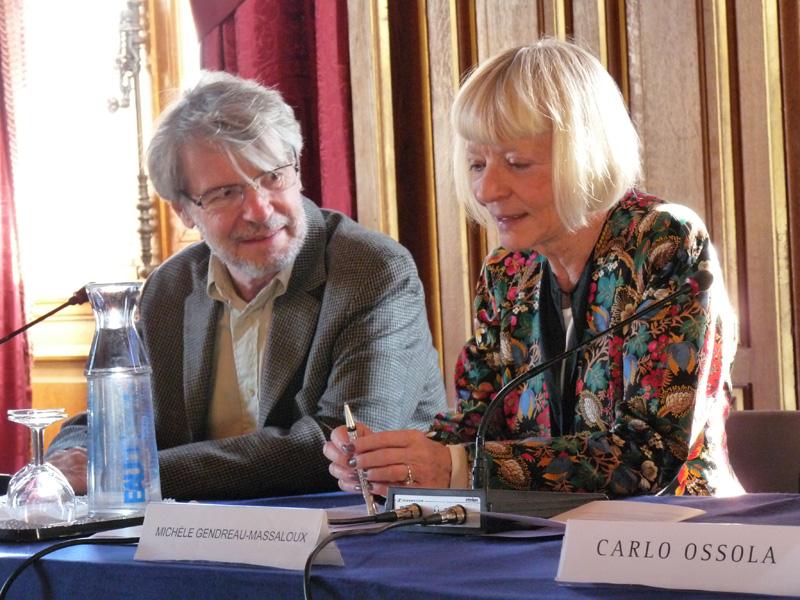 Patrick Talbot et Michèle Gendreau-Massaloux