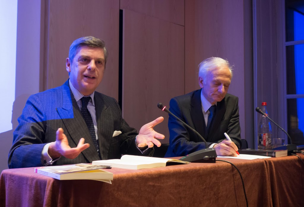 Maurizio Serra et Jean Musitelli